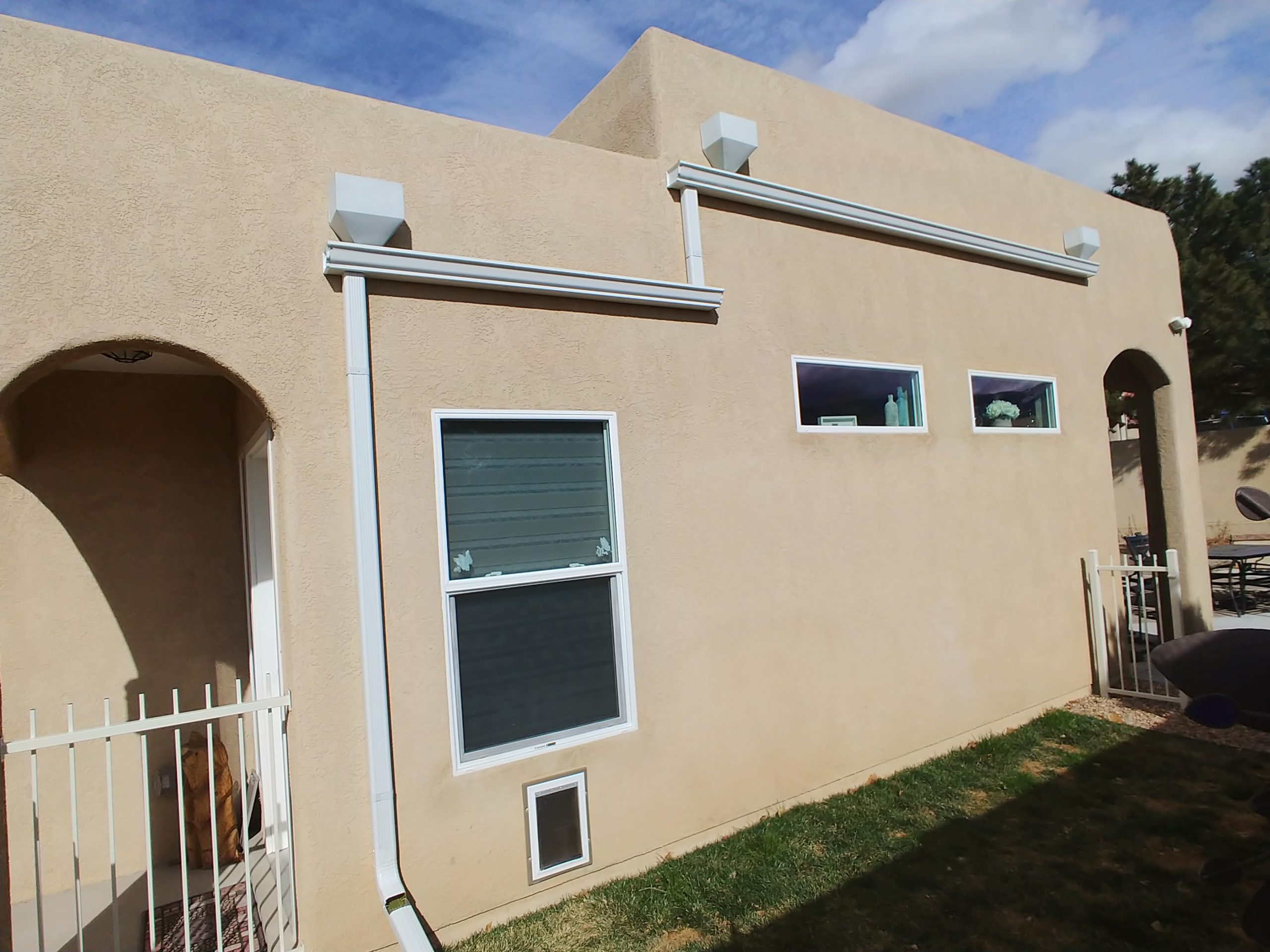 Gutter work in New Mexico